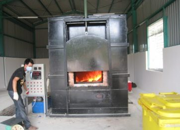 Xử lý khí thải lò đốt rác bằng phương pháp hấp phụ