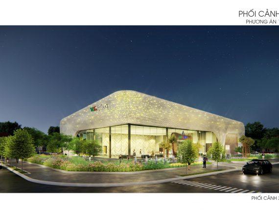 Thiết kế thi công mặt dựng nhôm Trung tâm thương mại