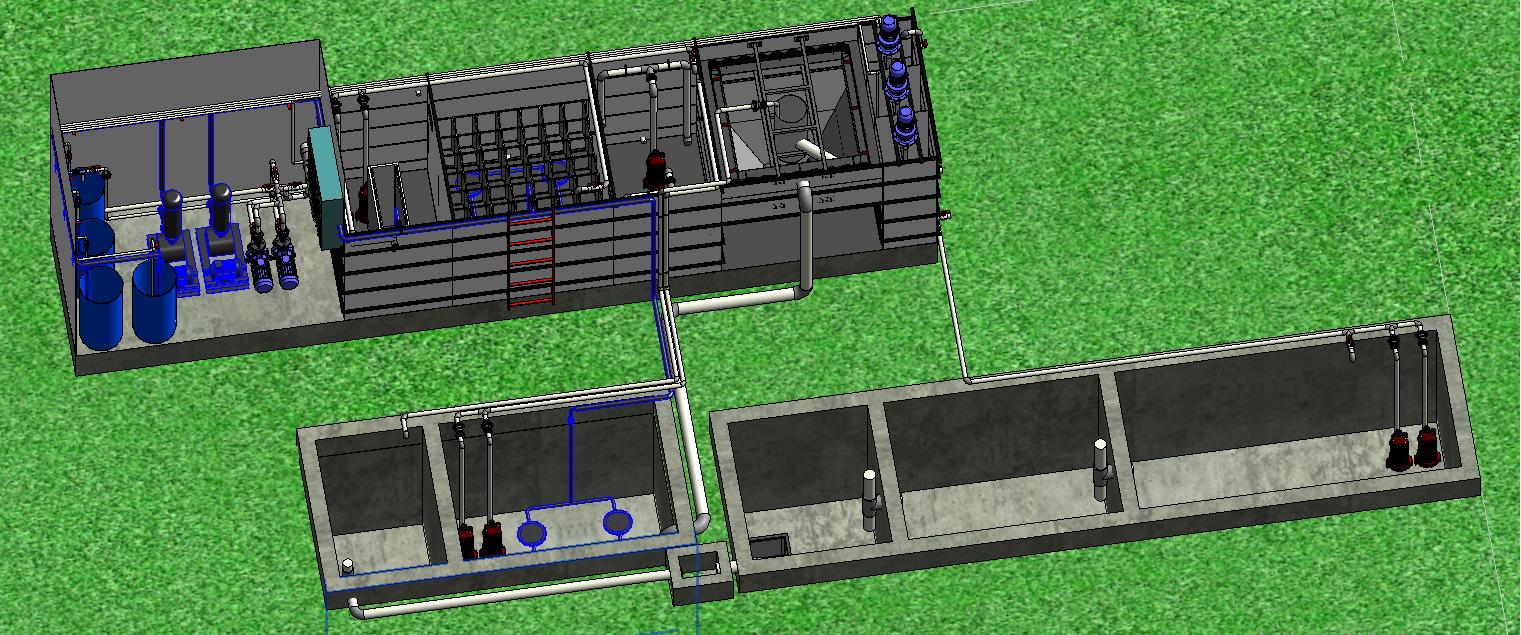 Thiết kế thi công hệ thống xử lý nước thải cơ sở sản xuất bánh tráng